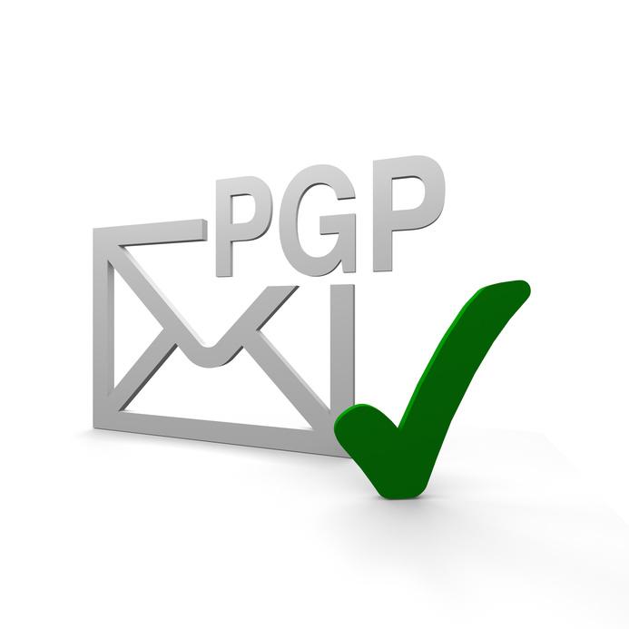 Gesicherte E-Mails: öffentlicher Schlüssel